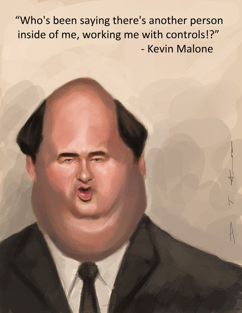 The Office Kevin Malone By Devonneamos On Deviantart Kevin The Office The Office Jim New Girl Quotes