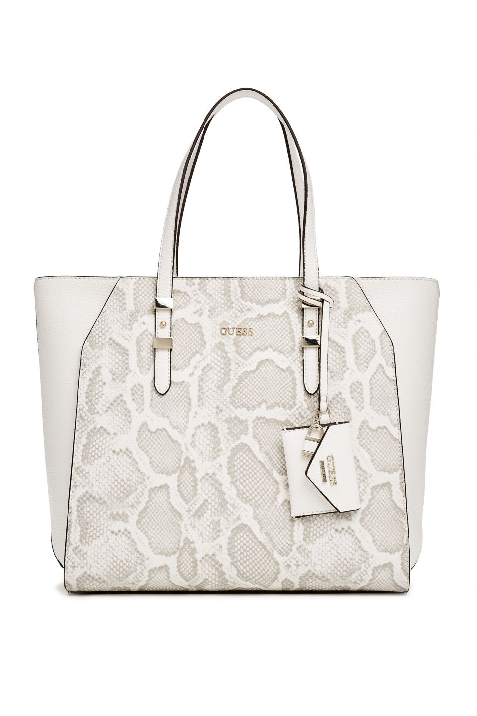 dfba2fb552 Gia Python-Print Tote | GUESS.com | GUESS / The Latest | Guess ...