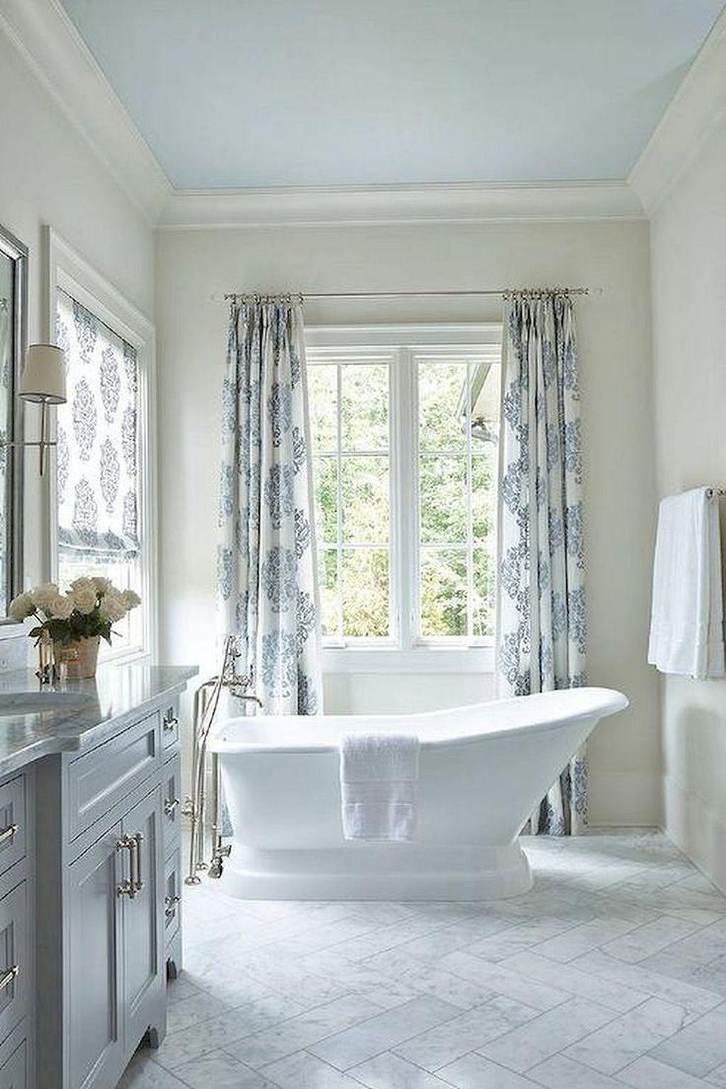 50+ Incredible Coastal Style Nautical Bathroom Designs