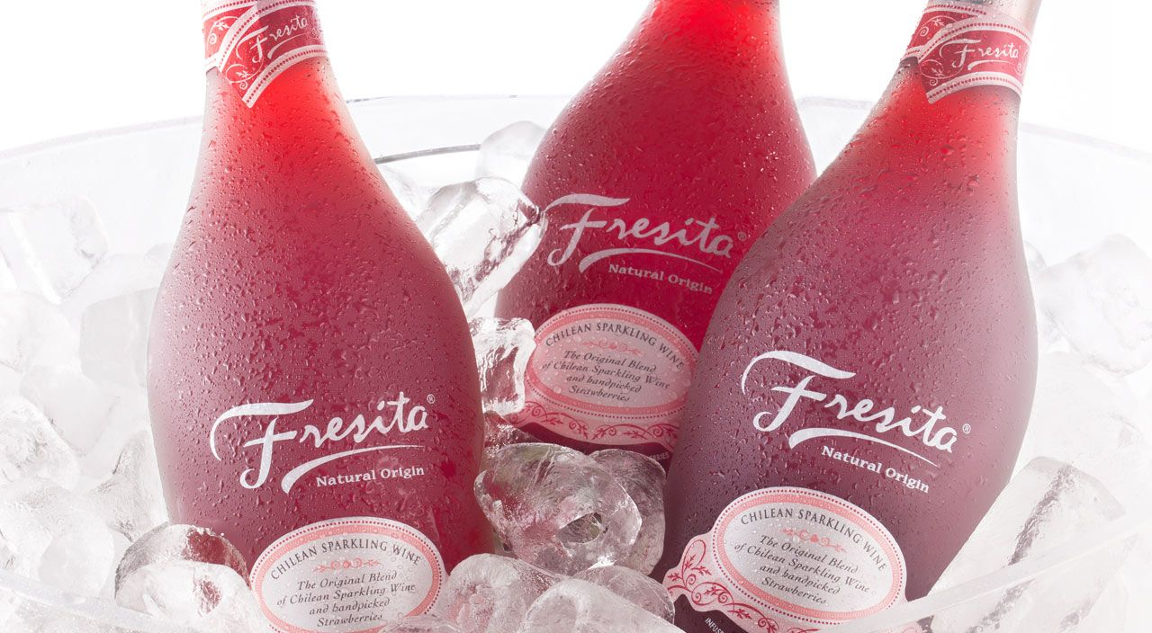 Fresita Sparkling Wine Fresita Disenos De Unas Fresas