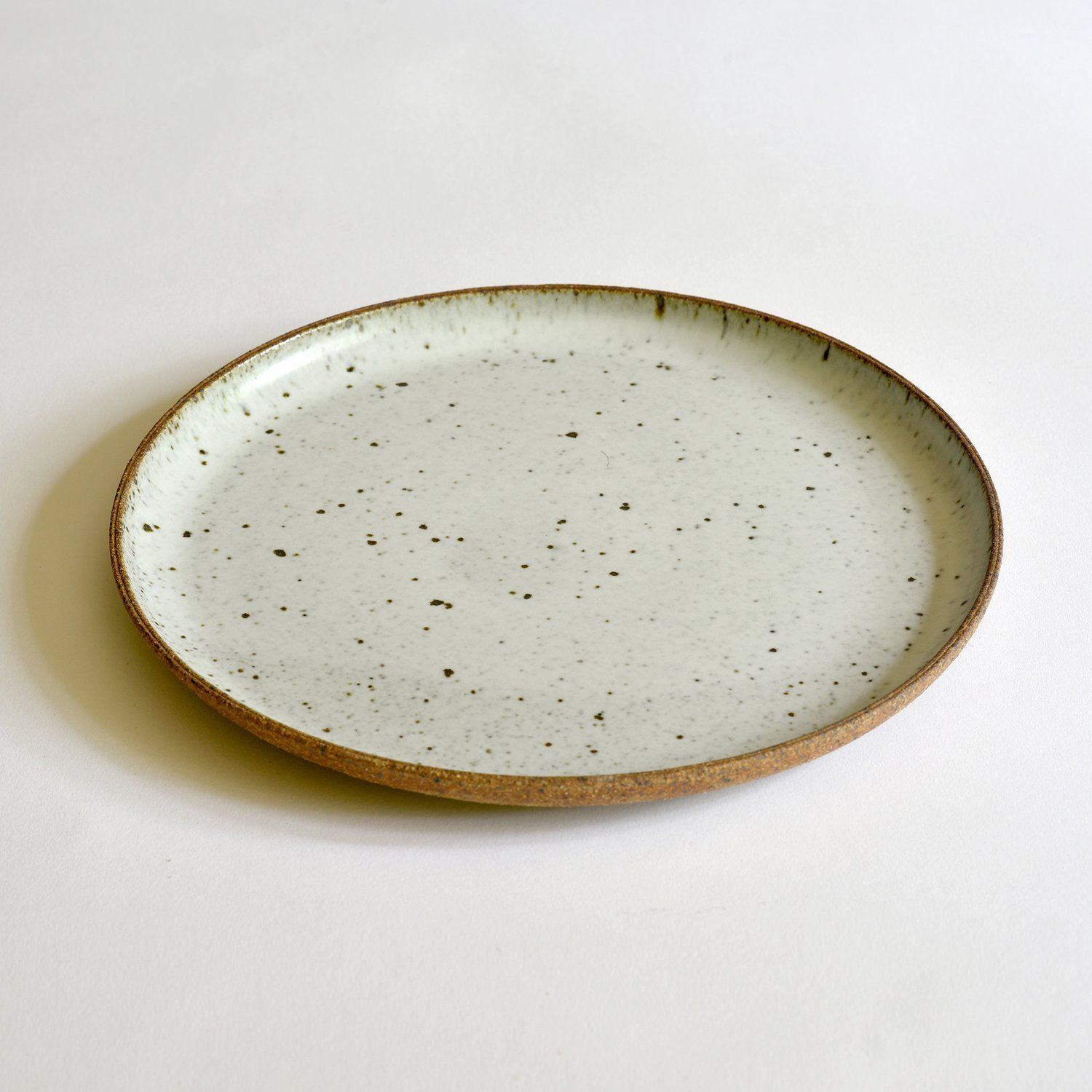 Dinner Plate Bd Pottery Pottery Plates Wheel Thrown Pottery Plates
