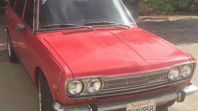1971 Wagon In San Diego California San Diego Diego San