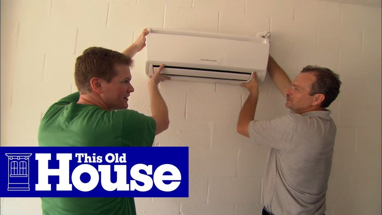 How to Install a Ductless MiniSplit Air Conditioner