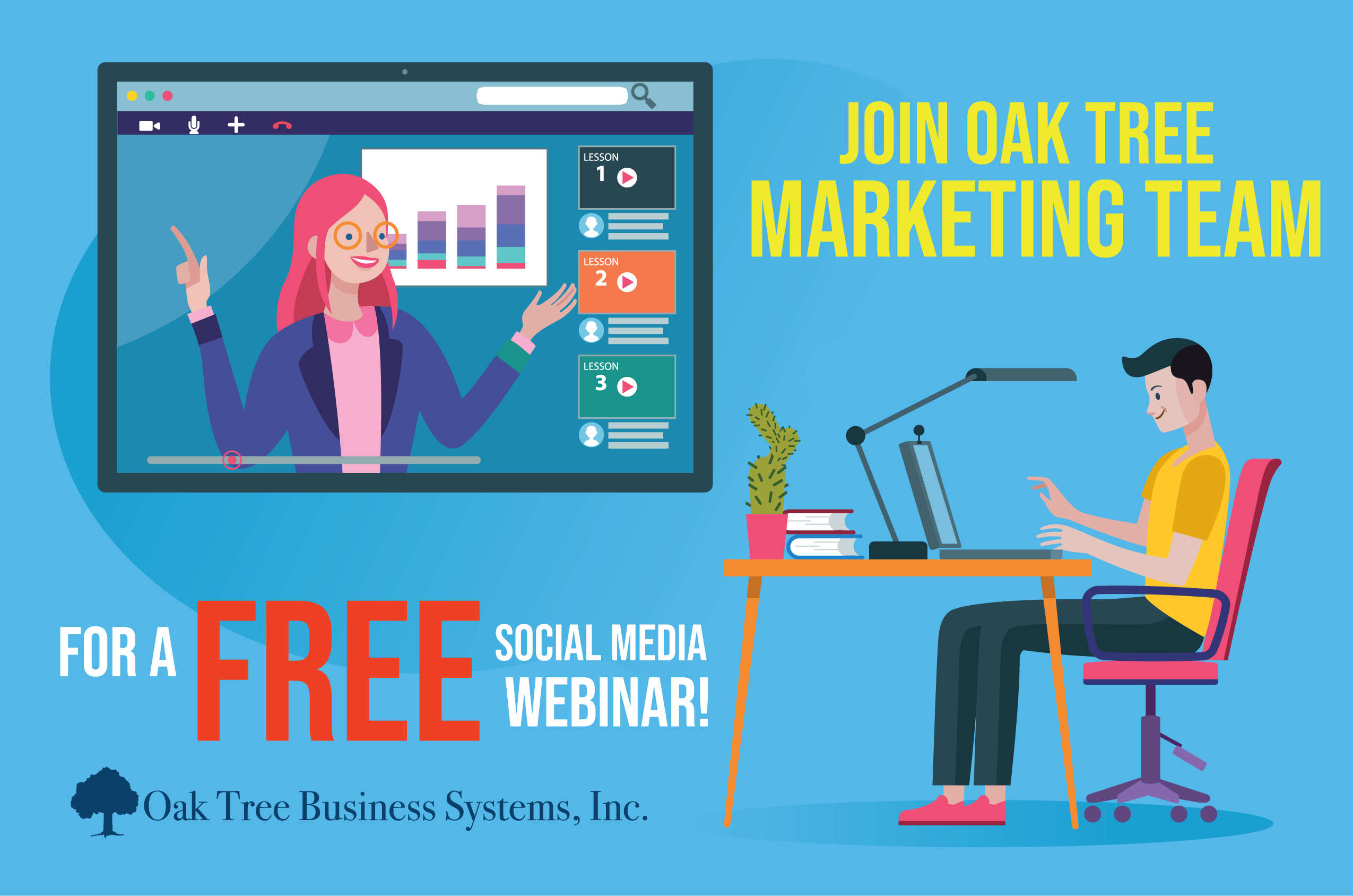 Contact Oak Tree Business Systems Business Systems Credit Union Marketing Marketing Services