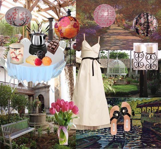 small outside wedding ideas | ... wedding ideas, backyard wedding ...