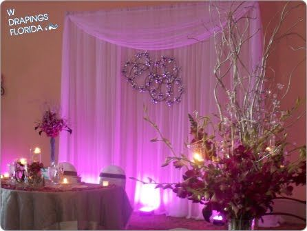 Wedding Backdrop Ideas Drapings And Wedding Chiffon