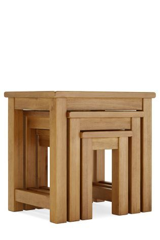 Set Of 3 Hartford Nest Tables From The Next Uk Online