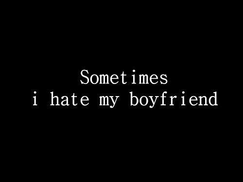 hate my fiance