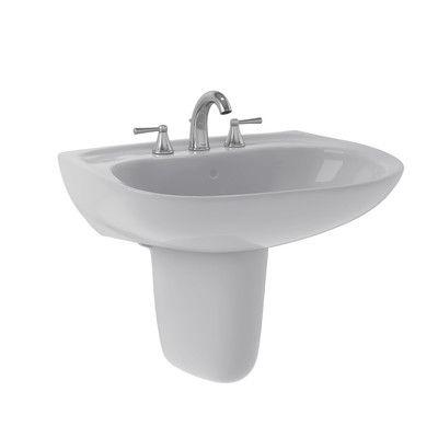 "Toto Prominence 26"" Wall Mount Bathroom Sink & Reviews  Wayfair Endearing Wayfair Bathroom Sinks Design Inspiration"