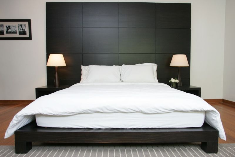 Kopfteil für Bett wird zur Wanddeko im Schlafzimmer – 52 Ideen ...