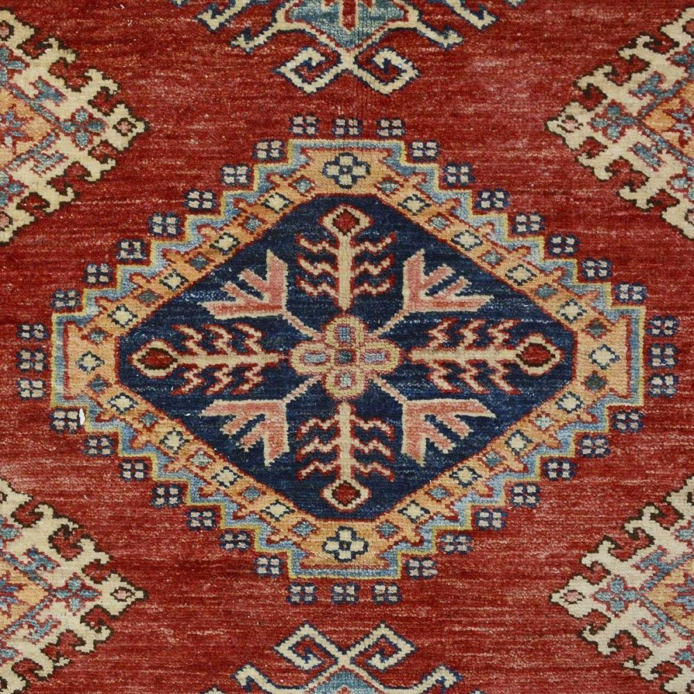 New Afghani Fine Kazak Rug Sh 33757 Design 2315 Size 9 X 12 Livingroom Diy Handmade Best Cleaning Modern Design Runner Print Carpet Rugs Floori