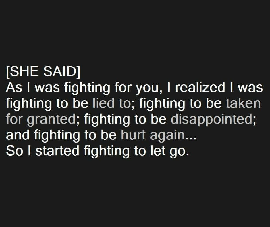 Fighting Quotes: Don't Lose Yourself Fighting Keep Someone Who Doesn't See