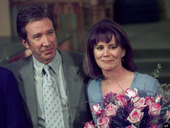 Tim Allen And Patricia Richardson Tears In The Final Episode Of The Series Patricia Richardson Home Improvement