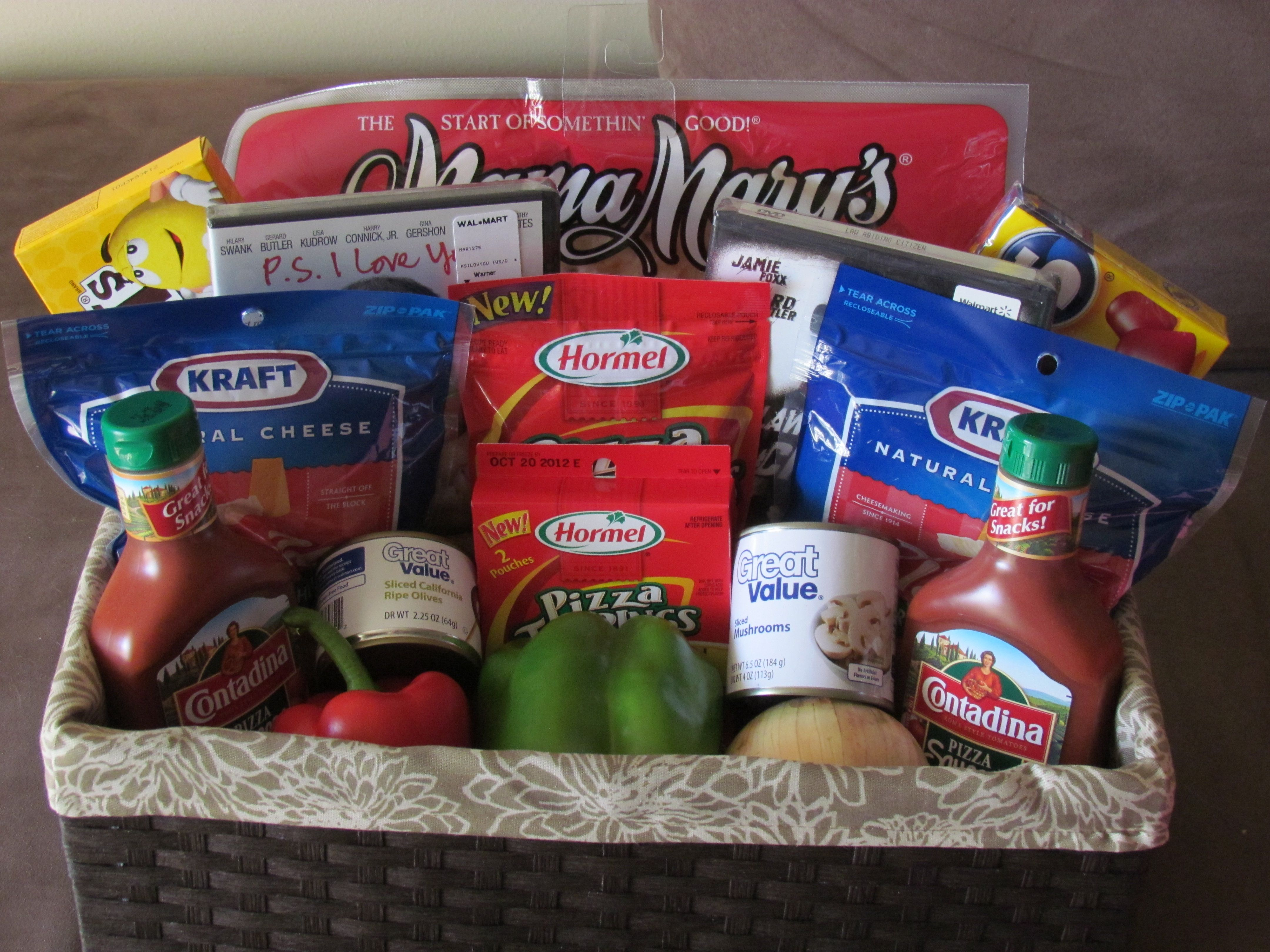 Dinner and a Movie Gift Basket | My Personal Crafts | Pinterest ...