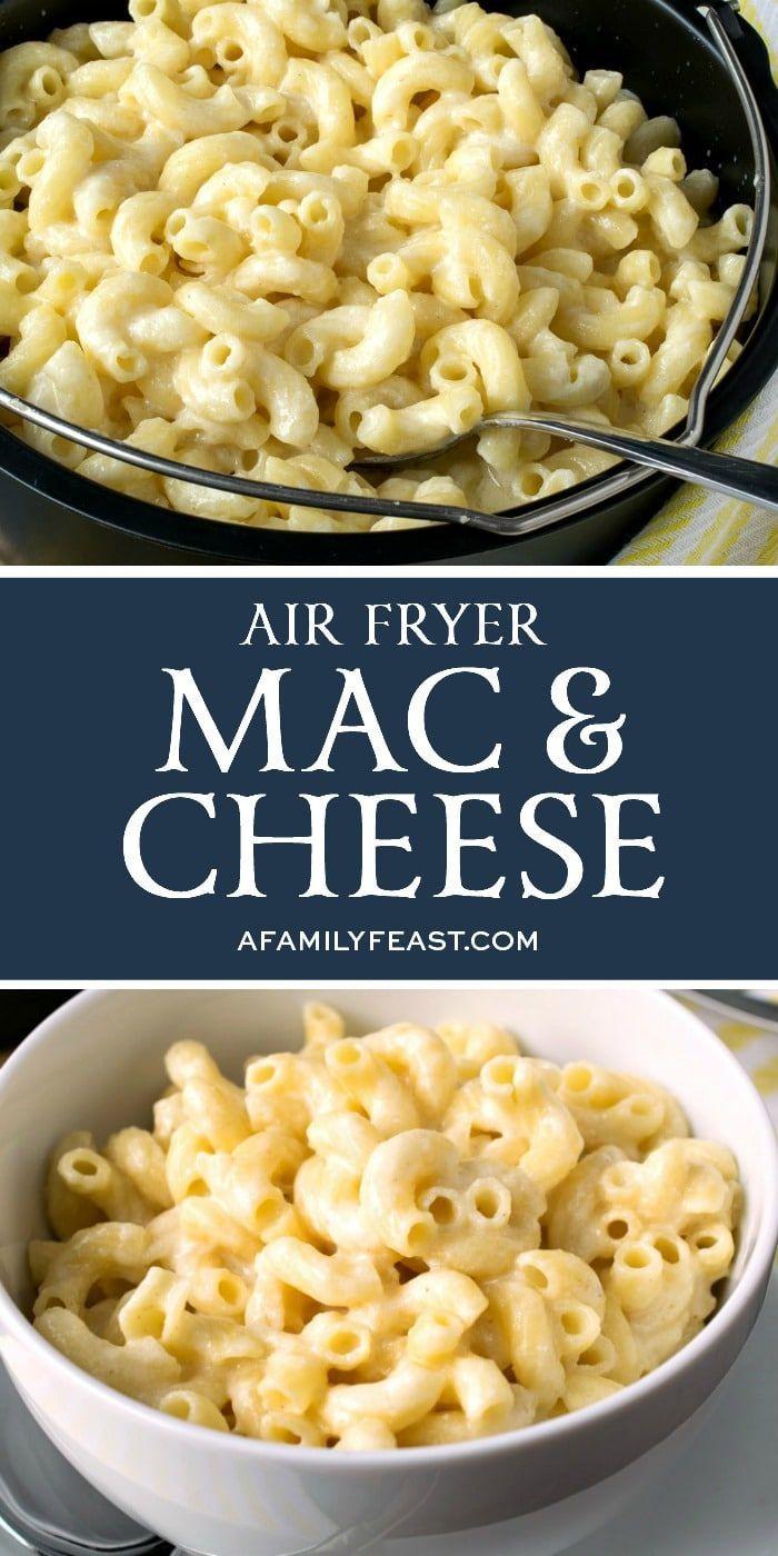 Air Fryer Mac & Cheese - A Family Feast®