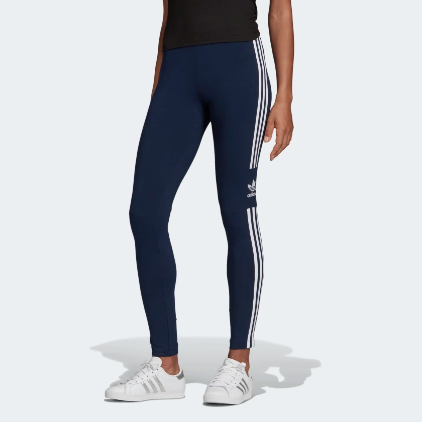 Trefoil Leggings Collegiate Navy Ed7489 Blue Adidas Adidas Trefoil Adidas Leggings