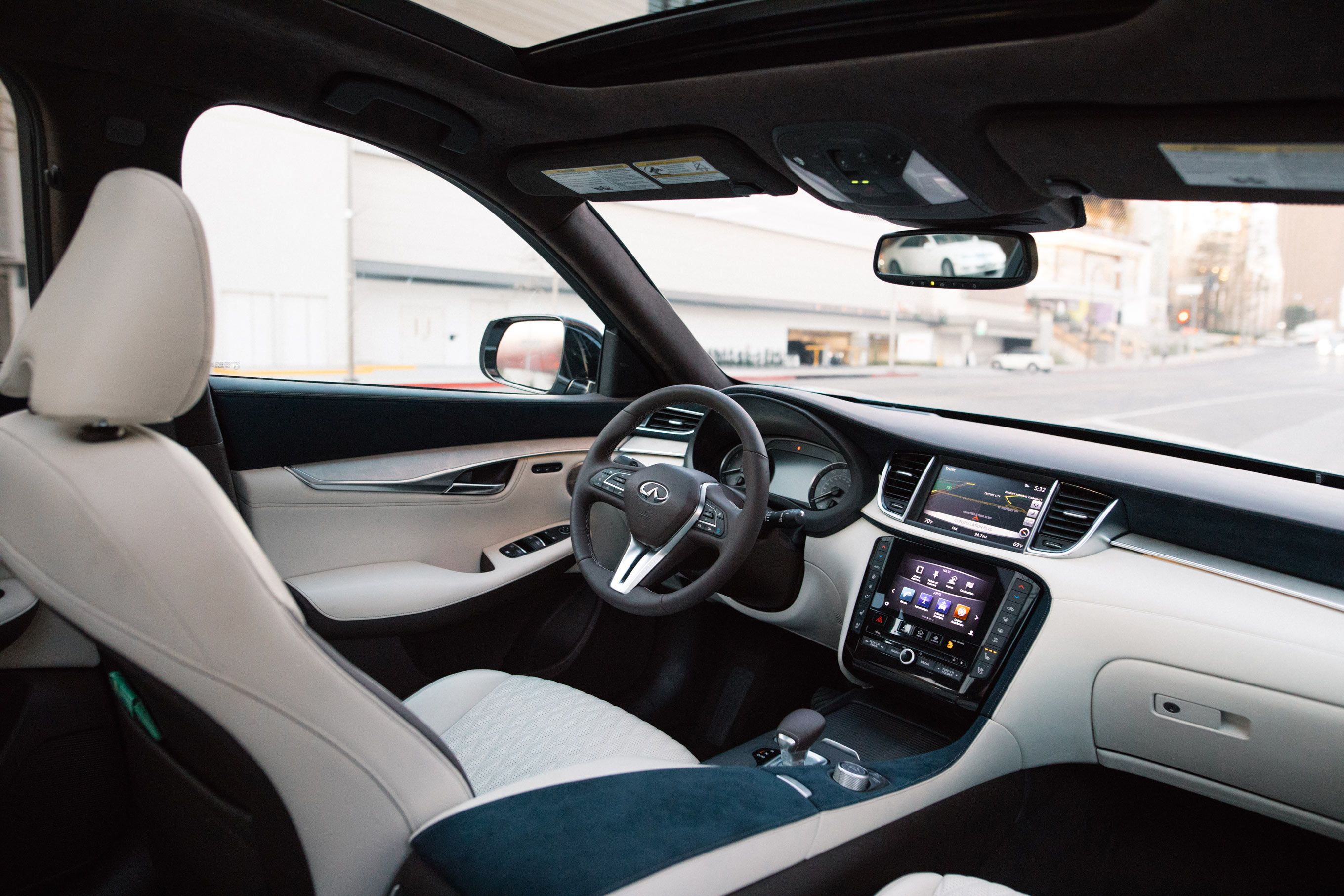 The All New Infiniti Qx50 Take A Seat And Experience The Journey Within Awarded One Of Wards 10 Best Interiors New Infiniti Luxury Crossovers Infiniti Usa