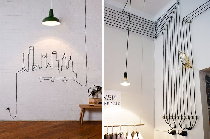 Disimular Cables Cosas Creativas Para Hacer Arquitectura Interior Decoracion De Unas