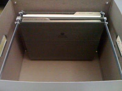 Ikea hack: caja para guardar carpetas colgantes : x4duros.com