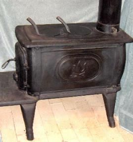 Probably 1850s 1870s Box Stove Antique Stoves