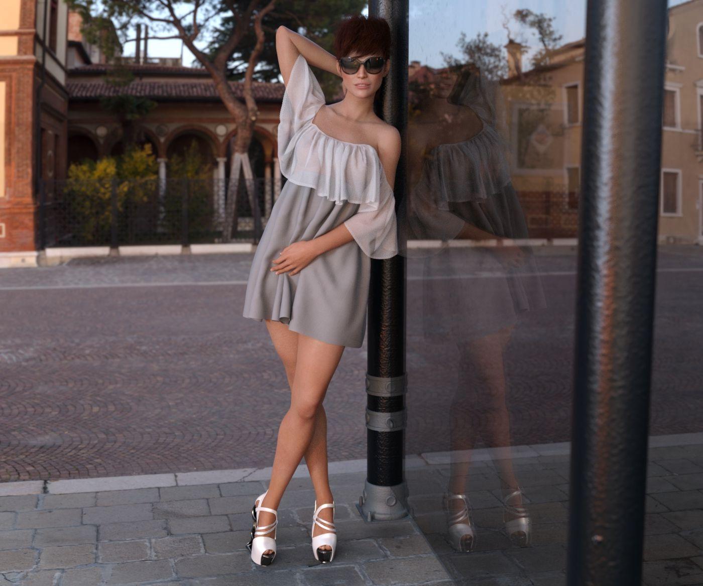 Sally outdoor by ziege58 on DeviantArt | 3d models | Outdoor