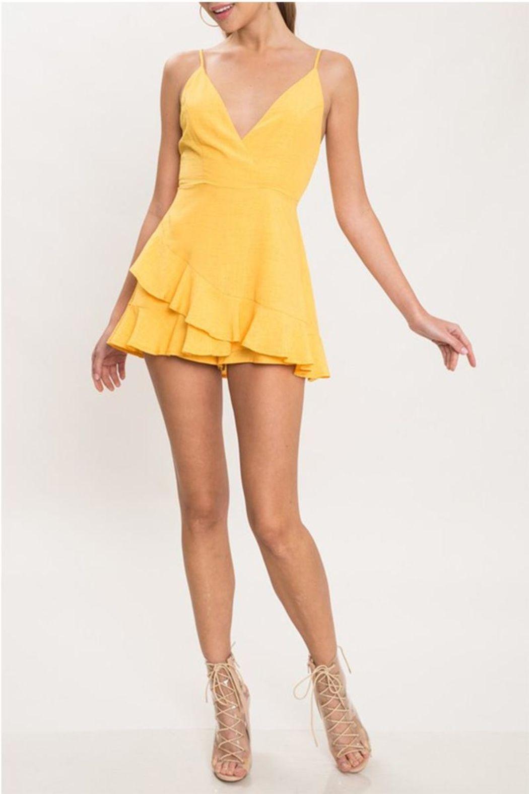 d3ce3747f64c L atiste Yellow Shift Dress - Main Image