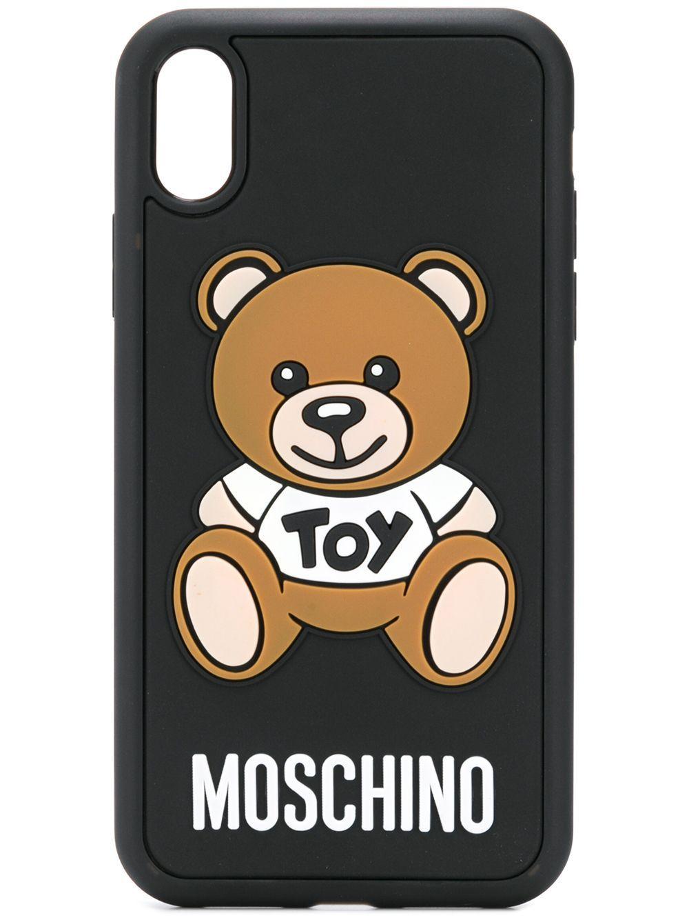 Moschino Toy Teddy Bear iPhone XR Case - Farfetch | Iphone ...