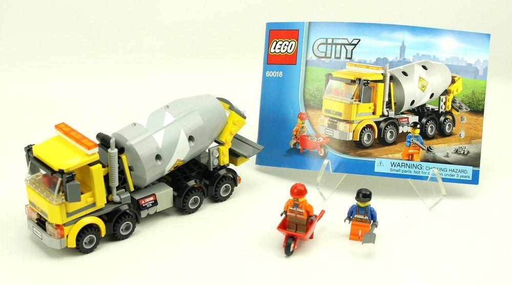 Complete Lego City 60018 Cement Mixer Lego Pinterest Cement