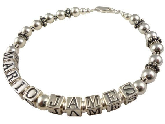 Bracelet for Mother/ Grandma Personalized with by NameBracelets