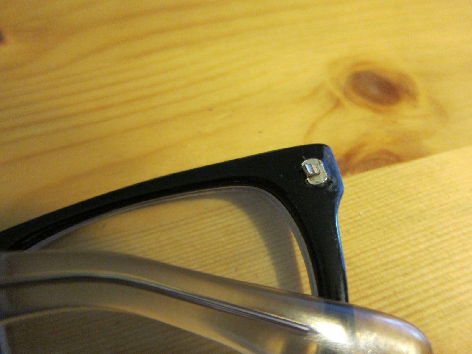 How to fix broken hinge on plastic frame glasses Hinges