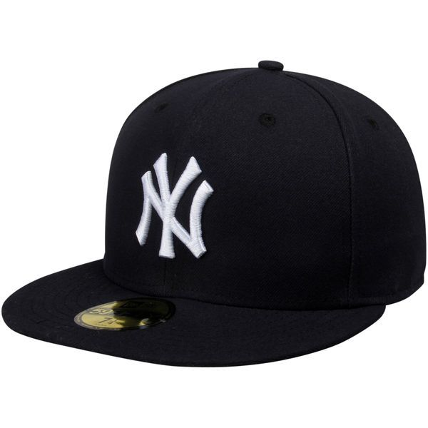 b071ce896f0c8 New York Yankees New Era AC On-Field 59FIFTY Game Performance Fitted Hat -  Navy