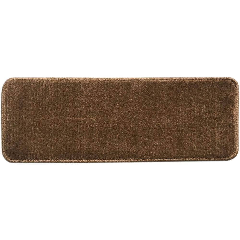 Best Ottomanson Softy Collection Brown 9 In X 31 In Rubber 400 x 300