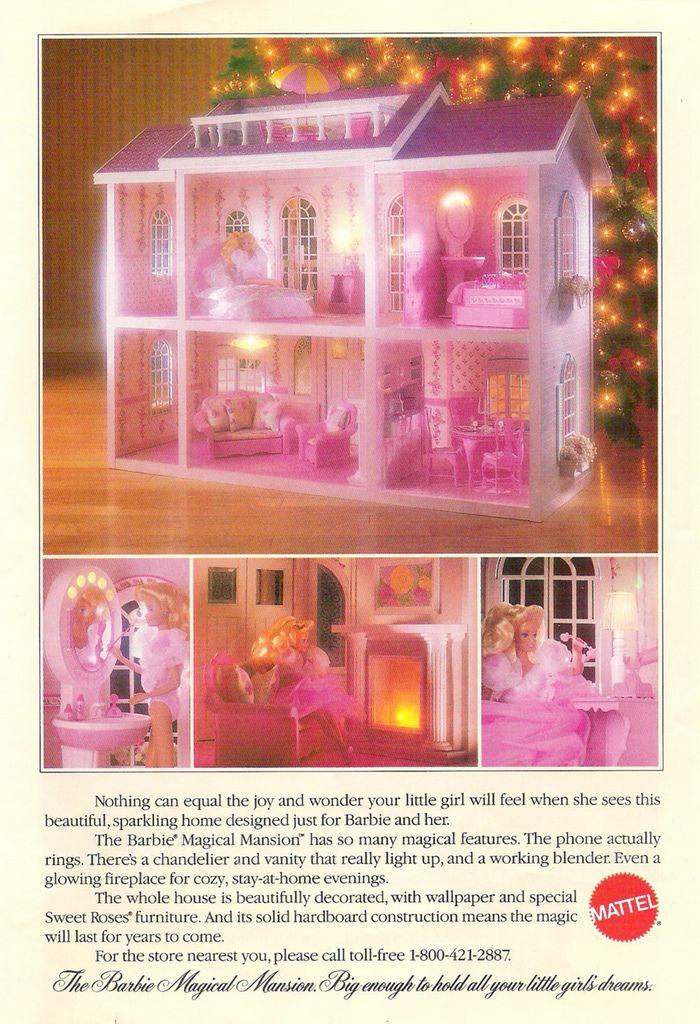 barbie magical mansion by mattel 1990 dreamz bathroom dollhouse