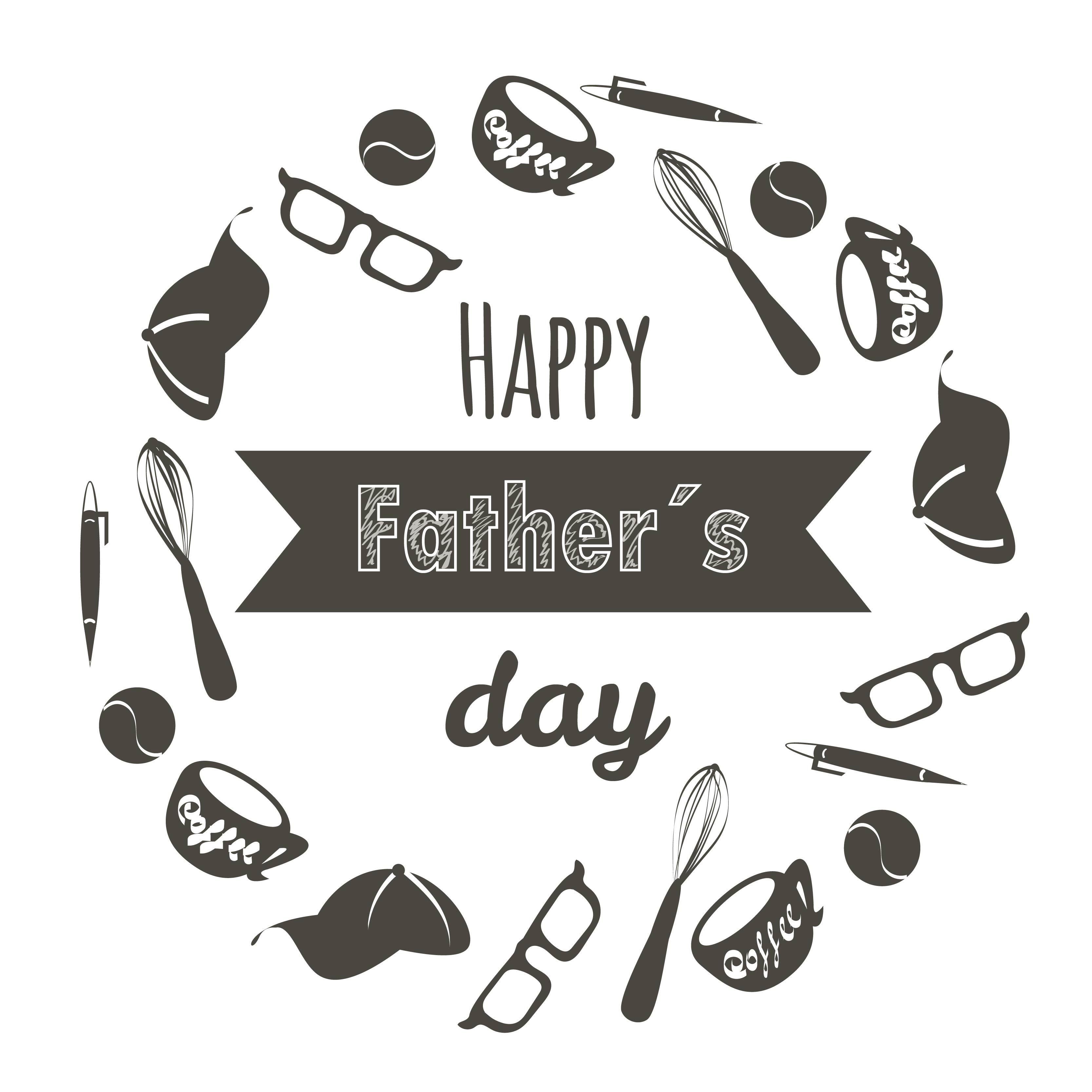 Happy Father´s day Illustration. Vector, Illustrator Ilustración realizada con vectores. #vector #illustrator #fathrsday #happyday #illustration #ilustracion #vectores