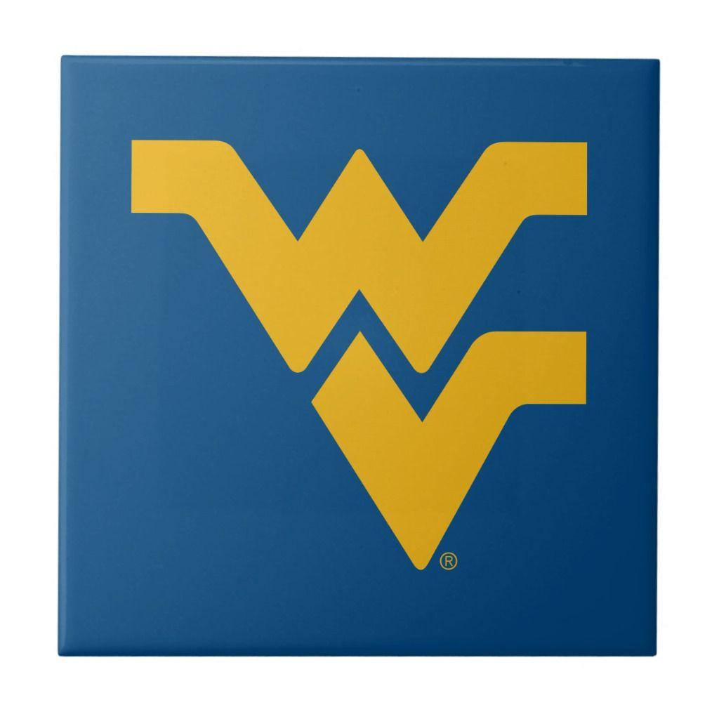 West Virginia University Tile Zazzle Com West Virginia University West Virginia Wvu Football [ 1024 x 1024 Pixel ]