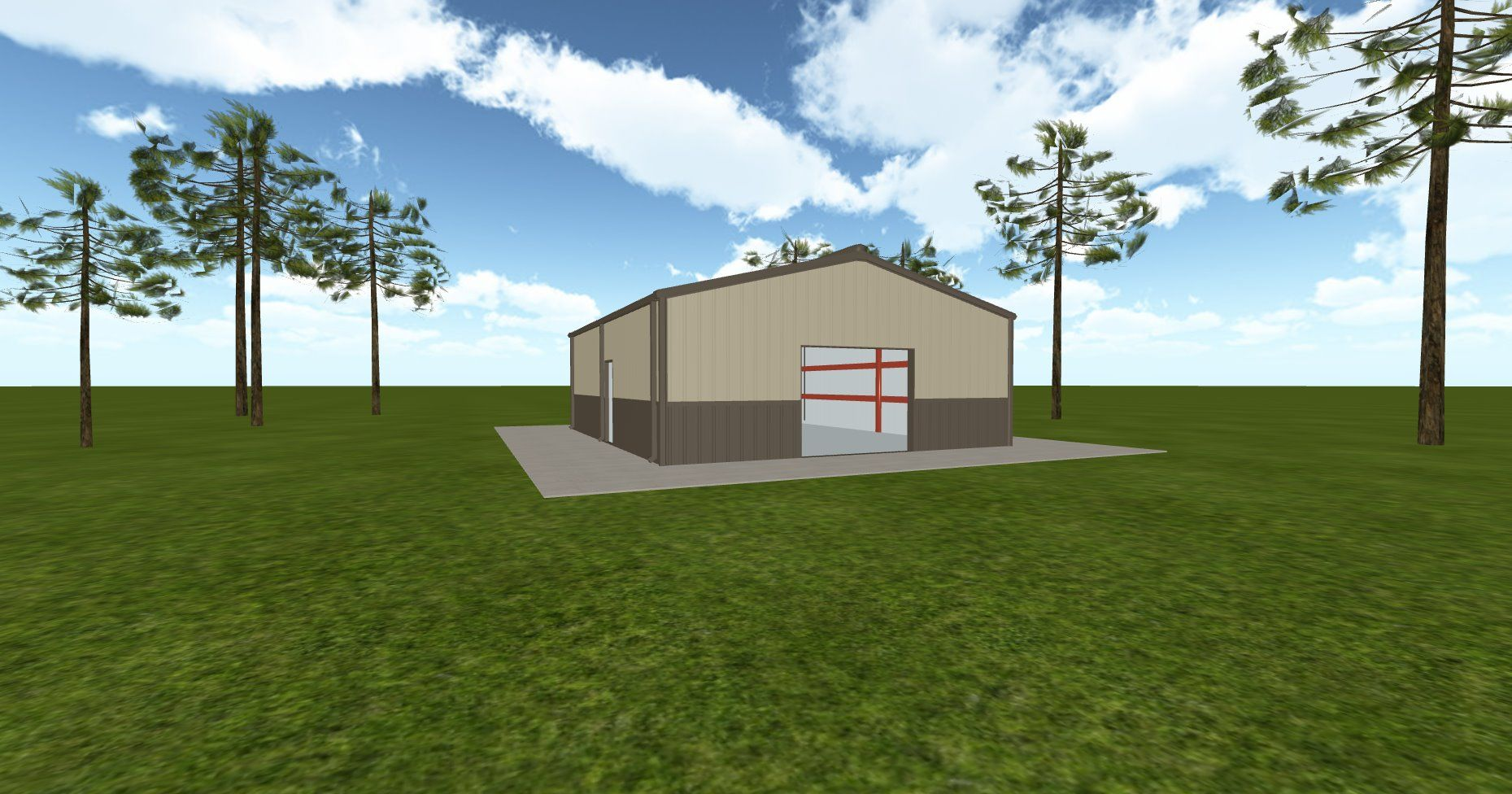 3D #architecture via @themuellerinc http://ift.tt/2yG6ISy #barn #workshop #greenhouse #garage #DIY
