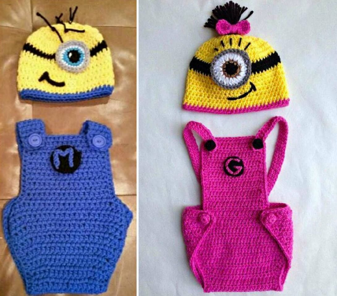 Minion crochet pattern pinterest top pins crochet minions free crochet minion overalls free patterns bankloansurffo Image collections