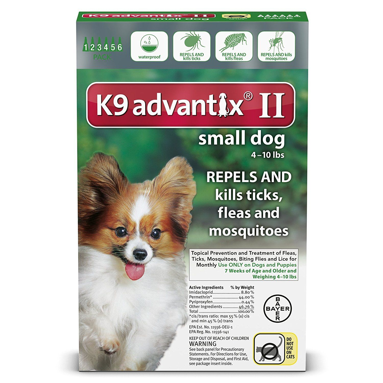 K9 Advantix Ii For Dogs 10 Lbs And Under 6 Count Additional Details At The Pin Image Click It Flea And Tick Control Small Dogs Dogs Fleas