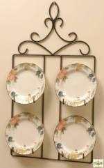 Plate Hanger - Square Four Plate for my Salem plates!  sc 1 st  Pinterest & Plate Hanger - Square Four Plate for 8 1/2 $45 @ finehomedisplays ...