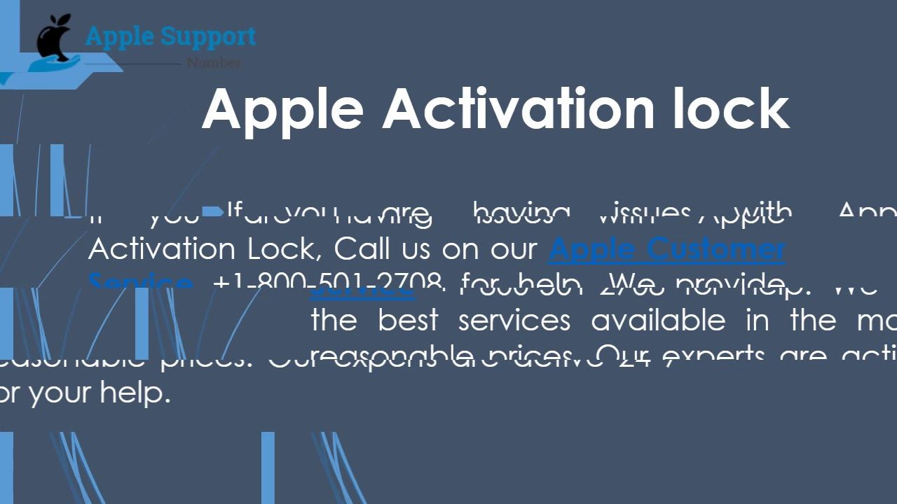 Contact Apple Tech Support for new information and