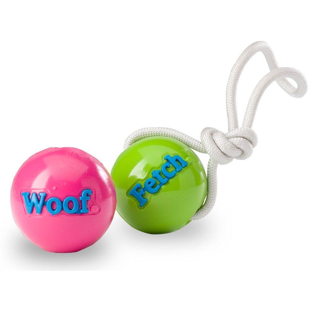 Orbeetuff fetch tug dog ball rope dog toys best dog toys