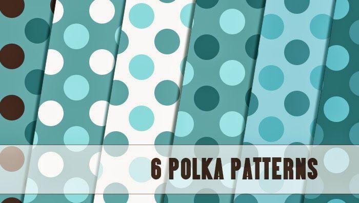 باترن رقصة البولكا 6 Polka Patterns Free Photoshop Patterns Pattern Free Web Design