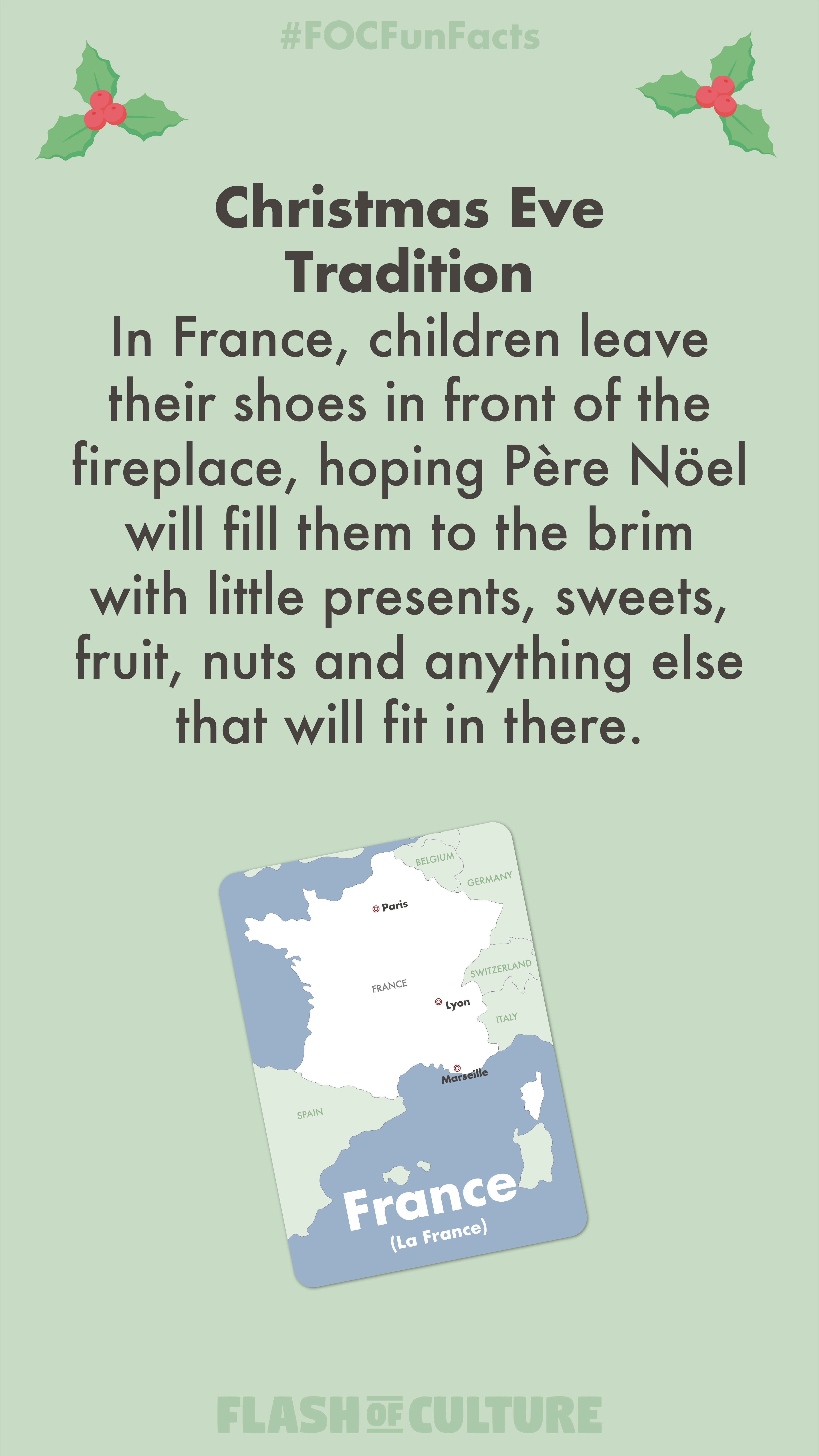 A Fun Christmas Eve Fun Fact Today In France Children