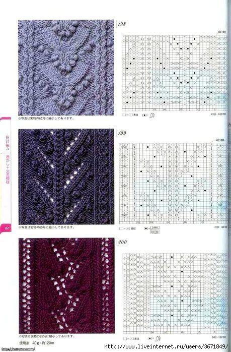 stitch pattern diagrams