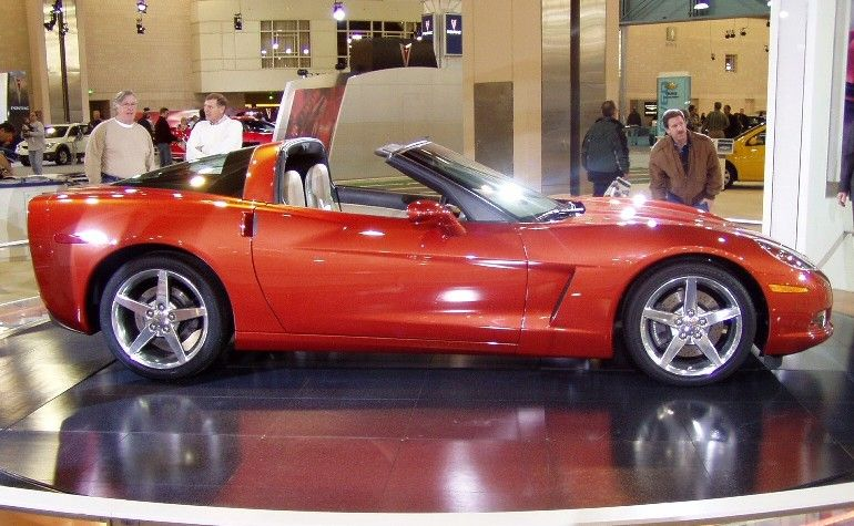 Daytona Orange C6 Corvette Couppe Corvette America Corvette Chevrolet Corvette