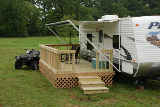 A Mobile Deck For Your Camper Or Rv Brilliant The