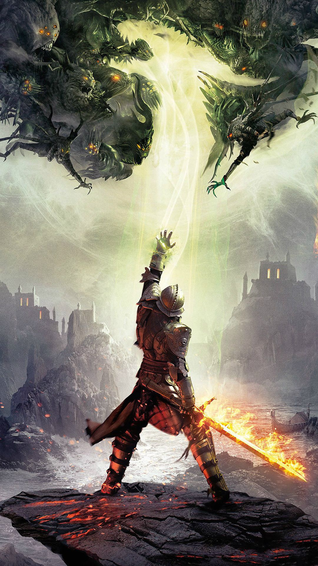 Dragon Age Inquisition Game Illust Art iPhone 8 Wallpapers