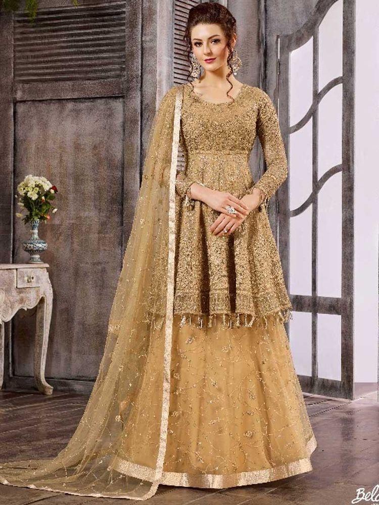 95ec26c272 #Indian #Designer #Bollywood Pakistani #Long #Suit #Wedding Party# Wear # Dress #Handmade #SalwarSuit
