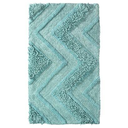 Room Essentials Bath Rug Sea Breeze With Images Teal