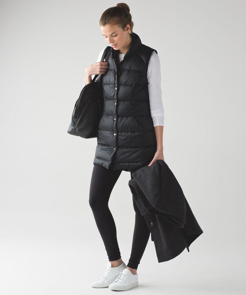 782ac6da5d RTL  220 NEW W TAGS WOMENS LULULEMON ALL DAYS VEST DOWN BLACK SZ 10   fashion  clothing  shoes  accessories  womensclothing  activewear (ebay  link)